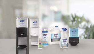 The PURELL SOLUTION™ is a complete set of products formulated to more holistically fight the spread of germs in a facility. It includes PURELL® Hand Sanitizer, PURELL® brand HEALTHY SOAP™ products, PURELL® Hand Sanitizing Wipes and PURELL® Surface Disinfectant.