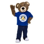 Build-A-Bear Workshop® invites Guests to visit local stores on National Hug Day, 21 Jan., to give a hug to Bearemy®, the Build-A-Bear mascot. For every hug from Bearemy, Build-A-Bear Foundation will donate £1 to Barnardo's (up to £5,000). (PRNewsfoto/Build-A-Bear)
