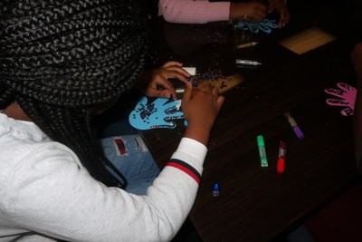 Over the past two months, Staywell associates, preschool children and their chaperones have gathered at Staywell's 15 Welcome Rooms across Florida to create hand art to show our support for Children's Week.