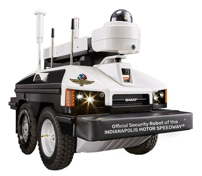 """Sharp INTELLOS A-UGV Named """"Official Security Robot of the Indianapolis Motor Speedway"""" - - -Automated, Driverless Outdoor Security Robot to Help Protect the World's Highest Capacity Sports Venue"""