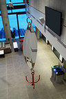 One of the fishing lure sculptures featured in Nitsiit (CNW Group/Sheridan College)