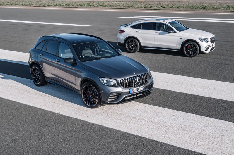 In terms of performance, the Mercedes-AMG GLC 63 S 4MATIC+ SUV and Coupe are sure to exceed all expectations at MIAS. (CNW Group/Mercedes-Benz Canada Inc.)