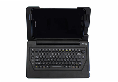 IK-SAM-AT iKey Keyboard IK-SAM-AT, for Use Exclusively with the Samsung Galaxy Tab Active2 Rugged Tablet. (PRNewsfoto/iKey, Ltd.)