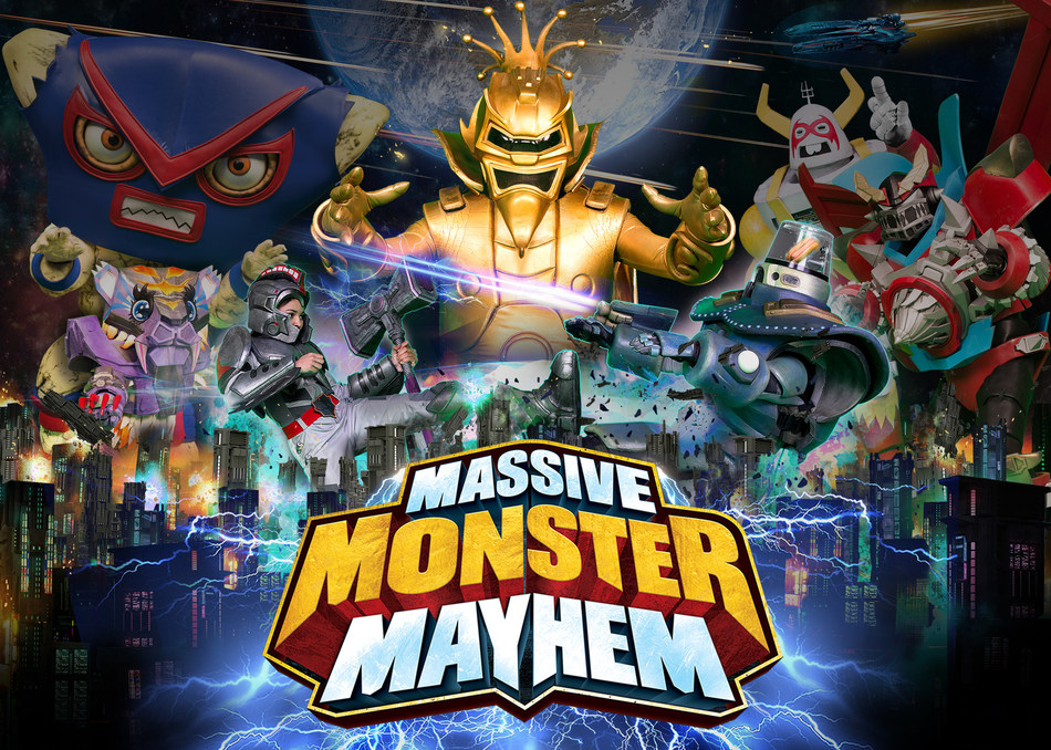 """DHX Media's original """"Massive Monster Mayhem"""" has been picked up by Nickelodeon International for air across more than 140 countries. (CNW Group/DHX Media Ltd.)"""
