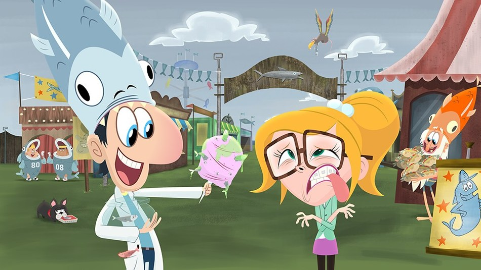 Animated TV comedy Cloudy with a Chance of Meatballs lands eight nominations (CNW Group/DHX Media Ltd.)