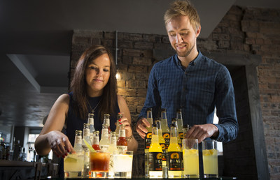 Co-Founders Hannah Fisher and Craig Strachan (PRNewsfoto/The Start-Up Drinks Lab)