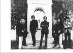 50 years ago this month: Graeme Edge, John Lodge, Justin Hayward, Mike Pinder, and Ray Thomas of the Moody Blues, circa January 1968.