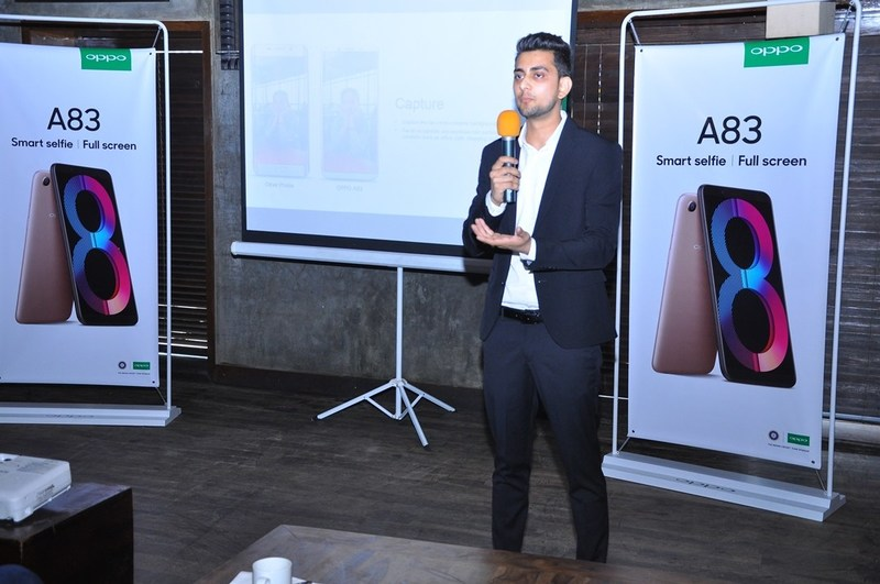 Mr. Suhail, Product Manager, OPPO Mobiles, India (PRNewsfoto/OPPO)