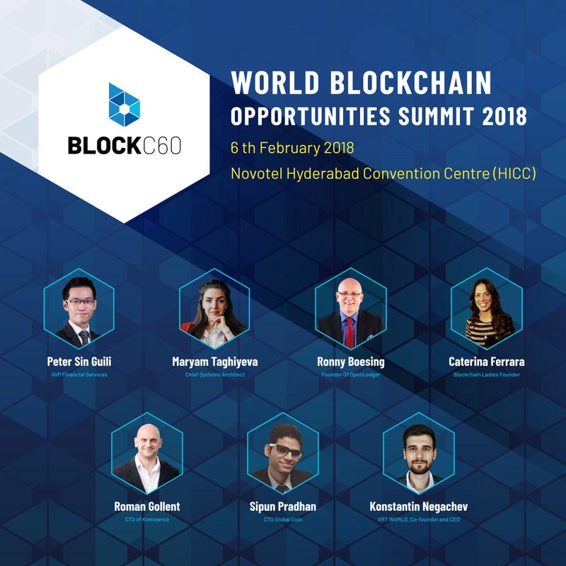 World Blockchain Opportunities Summit, 2018 (PRNewsfoto/BlockC60)