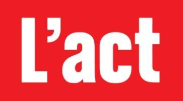 Logo : L'actualité (Groupe CNW/L'actualité)