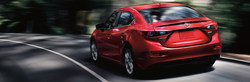 Car shoppers looking for a compact sedan are encouraged to stop into Matt Castrucci Mazda, where the 2018 Mazda3, shown above, is available during the January leasing event.