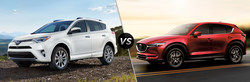 Colonial Toyota has created a model research page for one of its popular vehicles. This webpage highlights the features of the 2018 Toyota RAV4 vs the 2018 Mazda CX-5 so shoppers can see which is the vehicle that is right for them.