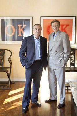 Jeff Sagansky (r) and Harry Sloan (l) of Platinum Eagle Acquisition Corp.