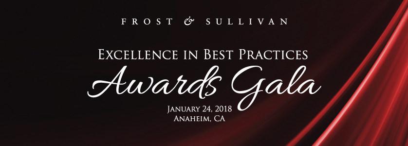 2018 Excellence in Best Practices Awards Gala (PRNewsfoto/Frost & Sullivan)