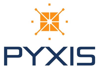 The logo of a new professional association, Pyxis