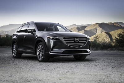 Mazda CX-9 2016 (spécifications pour le marché des États-Unis) (Groupe CNW/Mazda Canada Inc.)