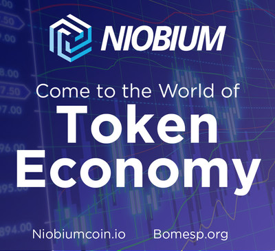 Niobium NBC of BOMESP, the world's first virtual business currency exchange-niobiumcoin.io (PRNewsfoto/BOMESP (Bolsa de Moedas Virtuai)