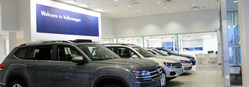 Nye Volkswagen of Rome has undergone some changes. There is a new showroom inside the dealership that is modern and has a comforting atmosphere for customer satisfaction. Shoppers will love to learn about new vehicles inside this showroom.