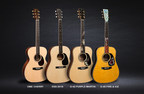 Martin Guitar to Debut Three New Authentic Series Models, a New FSC®-Certified Acoustic-Electric Model, and Several Limited Edition Models at Winter NAMM 2018