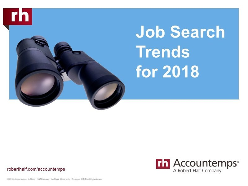 Job Search Trends for 2018