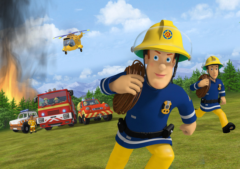 "DHX Media and Mattel announce 12 new international deals for favourite kids' show, ""Fireman Sam"" (CNW Group/DHX Media Ltd.)"