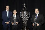BorgWarner Presents Baby Borg Trophy to 2017 Indianapolis 500 Winner Takuma Sato