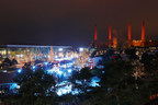 Winter Wonderland: More than 400,000 people visited the Autostadt in Wolfsburg in December 2017 - best month in the history of the Autostadt / photo credit: Matthias Leitzke WinterWonderland_AutostadtinWolfsburg_MatthiasLeitzke.jpg (PRNewsfoto/Autostadt GmbH)