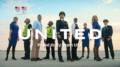 Team USA Olympic and Paralympic Athletes and United Airlines' Employees Star in New Campaign
