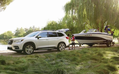 All-New 2019 Subaru Ascent Makes Canadian Debut in Montreal (CNW Group/Subaru Canada Inc.)