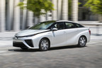 The Toyota Mirai Fuel Cell Electric Vehicle (CNW Group/Toyota Canada Inc.)