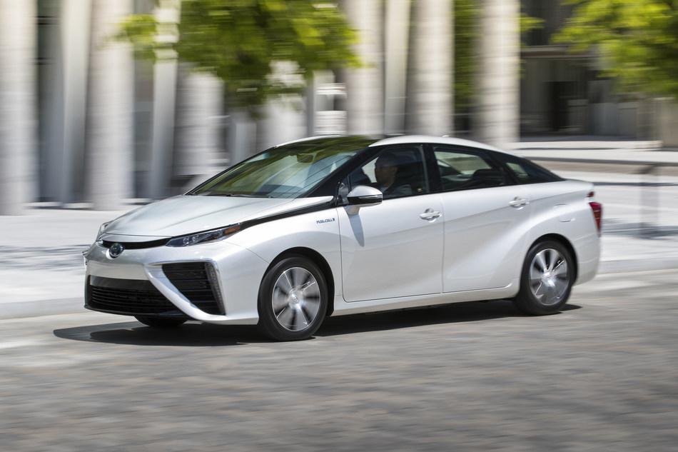 La Mirai, le véhicule électrique à pile à combustible de Toyota (Groupe CNW/Toyota Canada Inc.)