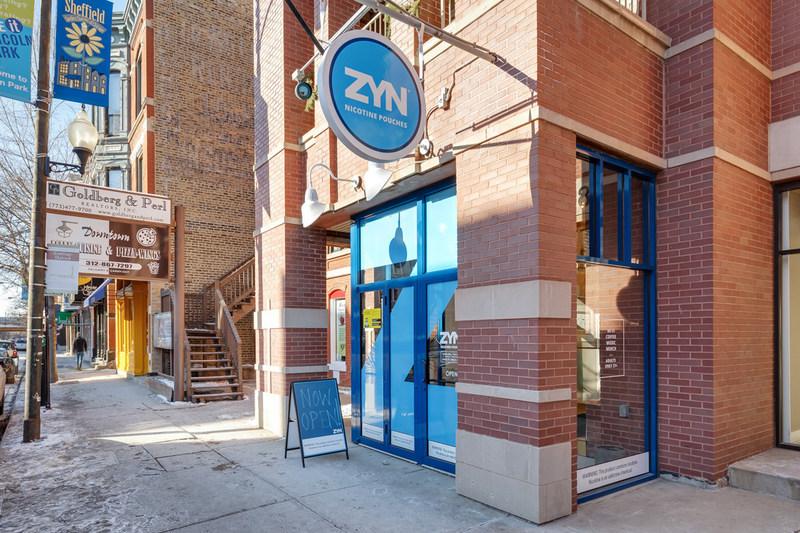 Outside The ZYN Store