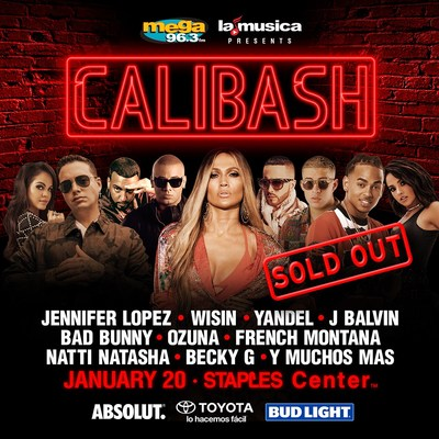 ¡Number CALIBASH SOLD OUT