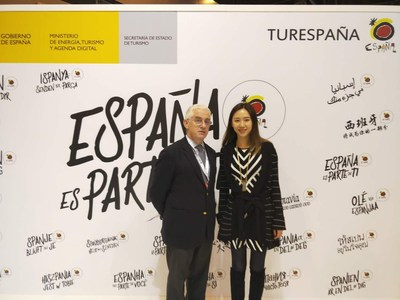 Ms. Jenna Qian, Vice President of Ctrip and Mr. Manuel Butler, Director General of Tourspain