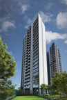 Rustomjee Paramount - Isle Residences Elevation (PRNewsfoto/Rustomjee)