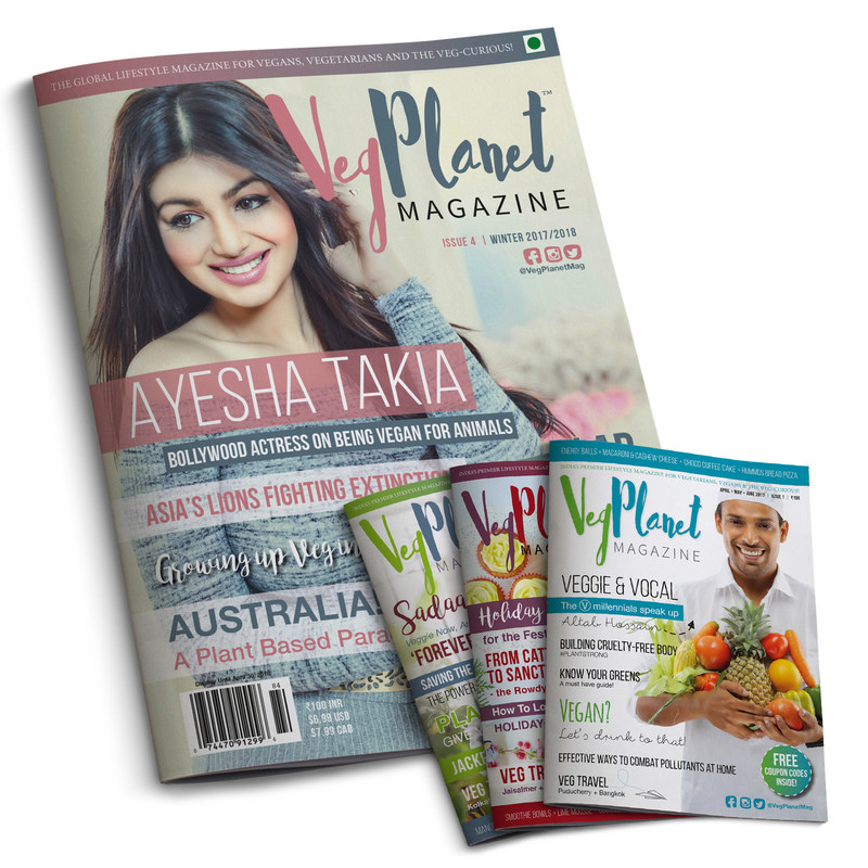 VegPlanet  - India's First Vegan Magazine Goes Global (PRNewsfoto/VegPlanet Media Pvt Ltd)