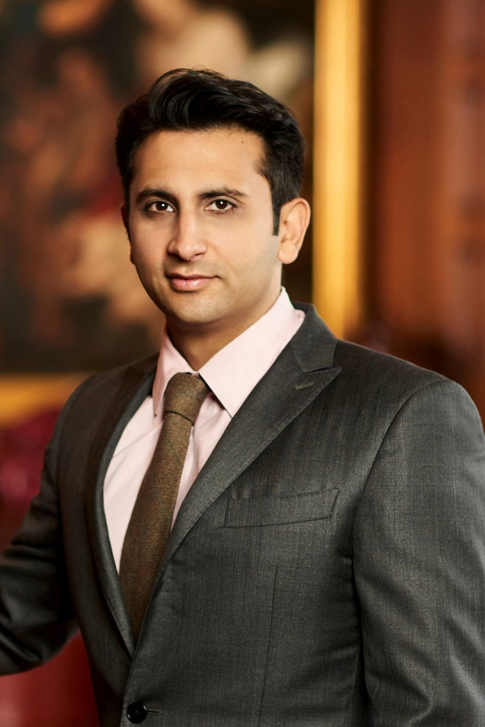 Mr. Adar C. Poonawalla, CEO & Executive Director, Serum Institute of India Pvt. Ltd. (PRNewsfoto/Panacea Biotec Ltd.)