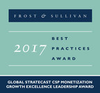 Stratecast | Frost & Sullivan has recognized Netcracker Technology Corporation with the 2017 Global Stratecast Growth Excellence Leadership Award in CSP Monetization.