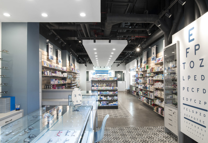 The new i+care Pharmacy in Downtown Brooklyn.
