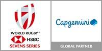 Logo World Rugby HSBC Seven Series CAPGEMINI (PRNewsfoto/Capgemini)