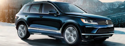 The 2017 Volkswagen Touareg, along with several other Volkswagen vehicles from the 2017 model year, are still available at Donaldsons Volkswagen in Sayville, N.Y.