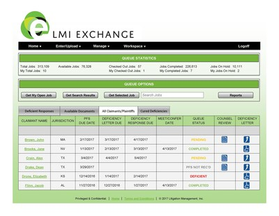 Manage Fact Sheets, Discovery Questionnaires and Supporting Documents with LMI Exchange