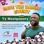 Jam City and Panda Pop Team Up with Pro Football Star, Ty Montgomery, in 'Save the Babies' Event Benefiting the Coalition for Children, Youth & Families