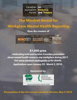 Digital Poster (CNW Group/Canadian Journalism Forum on Violence and Trauma)