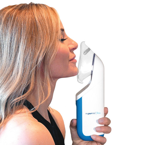 Every performer and presenter at the 60th GRAMMY Awards® will receive a Mypurmist® Free personal steam inhaler in NYC this Sunday.  It helps vocal chords while providing instant, natural, effective therapy for sinus congestion, colds and allergies.