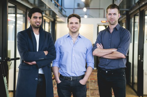 D-ID's founders Eliran Kuta, Gil Perry and Sella Blondheim - (the founders from left to right)