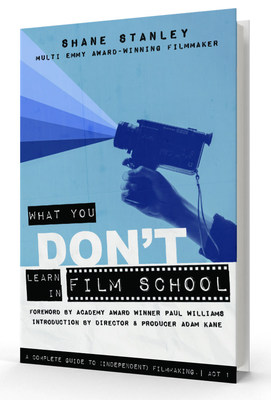 What You Don't Learn In Film School, a complete roadmap showing you the ropes in great detail from inside the (independent) film industry as never told before. Learn invaluable industry secrets from top to bottom and discover the truth about independent film distribution as the lid is torn off the many myths surrounding sales agents and today's release platforms that are certain to open reader's eyes - and ruffle a few feathers!