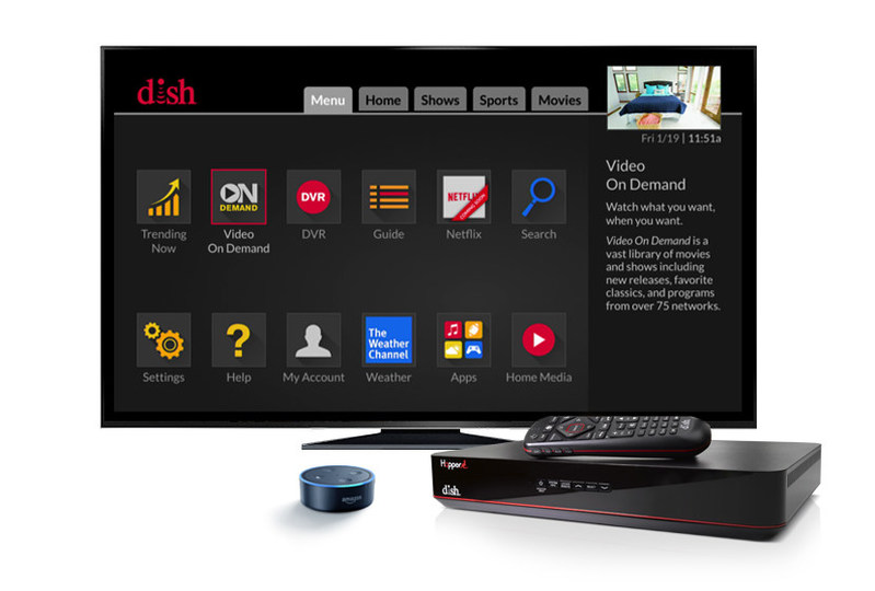DISH's new Hopper Duo set-top box features the Hopper user interface and voice technology compatibility.