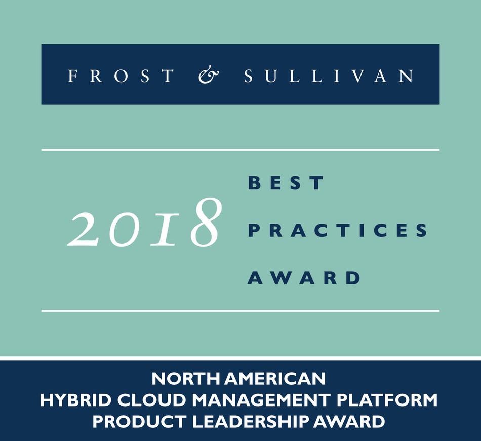 2018 North American Hybrid Cloud Management Platform& Product Leadership Award