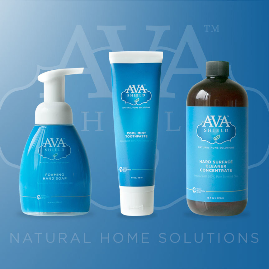 Ava Shield is a new line of all-natural personal and home care products.